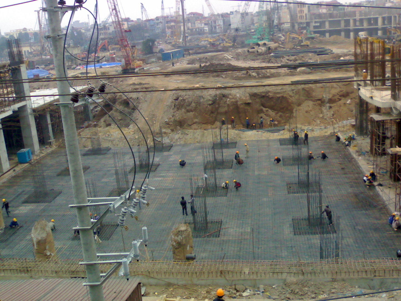 Hình ảnh 3: Biện pháp thi công phần móng nhà cao tầng thông dụng