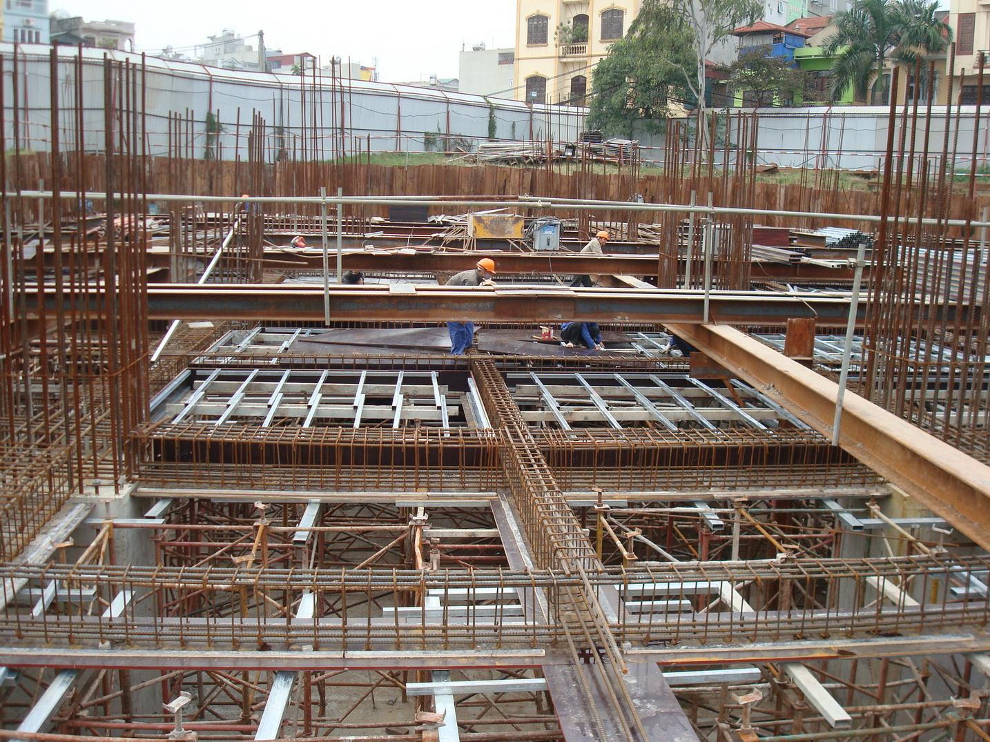 Hình ảnh 6: Biện pháp thi công phần móng nhà cao tầng hiện đại