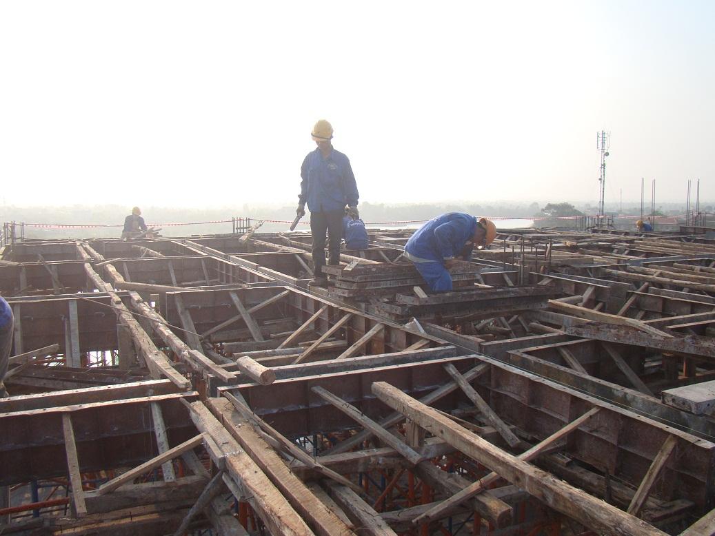 Hình ảnh 7: Biện pháp thi công phần móng nhà cao tầng